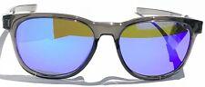NEW* Oakley STRINGER Smoke Grey w Violet Iridium purple Lens Sunglass oo9315-06