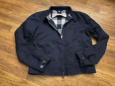 BURBERRY BRIT MENS NAVY BLUE OUTERWEAR JACKET SMALL