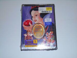 New Disney SNOW WHITE and the SEVEN DWARFS Platinum Edition 2 Disc DVD Set 2001