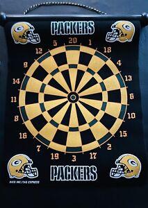 NFL Green Bay Packers Magnetic Team Dart Board - NIB - By RICO Industries