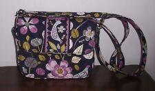 VERA BRADLEY RACHEL CROSSBODY SHOULDER BAG ~ Floral Nightingale ~ Ex, Cond.