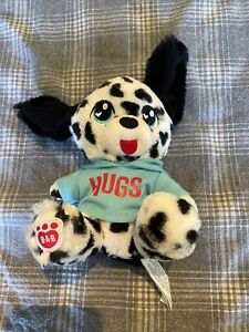Build A Bear Black And White Mini Dog With Tshirt