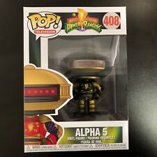 Funko POP Power Rangers Alpha 5 Black and Gold Exclusive *No Sticker* MINT BOX