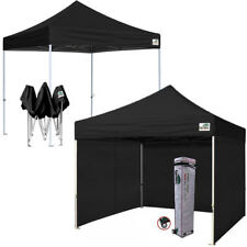 10x10 Commercial EZ Pop Up Canopy Outdoor Instant Party Shelter Trade Show Tent
