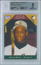 1996 ADRIAN BELTRE BEST SAVANNAH SANDGNATS #30 MINOR LEAGUE BGS MINT 9