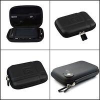 QUALITY Gps Hard Case Carry Travel Bag 5 Inch for Garmin Tomtom  Magella Black