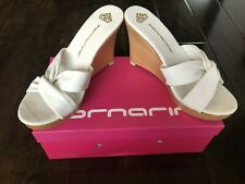 New Fornarina Women's White Wedges Shoes – 5.5US/36 Euro