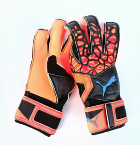 Puma FUTURE Grip 19.2 Torwarthandschuh Goalkeeper Gloves Rot Schwarz 041513-01