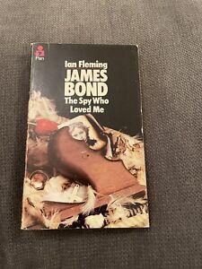 James Bond The Spy Who Loved Me Pan Books 1973 8th Printing