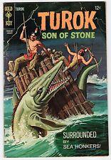 Gold Key TUROK SON OF STONE #60 Jan 1968 Vintage Comic