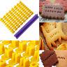 New Alphabet Letter Number Cookie Press Stamp Embosser Cutter Fondant Cake Mould
