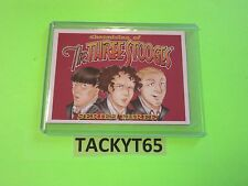 2015 THE THREE STOOGES PROMO CARD NUMBER 5