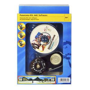 "Hama 2-teiliges Panorama-Kit für Kompaktkameras, inkl. Software, Gewinde 1/4"""