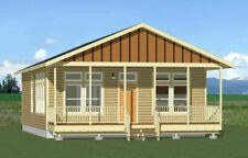 "HOME 3 Bedroom 2 Bathroom 1,008 Square Feet Floor 28"" x 36""  House Plan @PDF@"