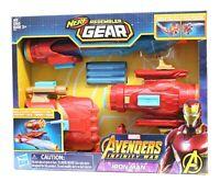 Iron Man Marvel Avengers Infinity War Nerf Assembler Gear Dart Blaster New
