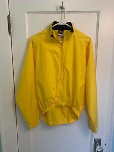 CANARI Women's Cycling Wind Jacket Size Small - Optic Yellow