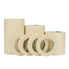 (8mm-300mm x 50M) Masking Tape Indoor Outdoor Diy Painting Decorating Easy Tear