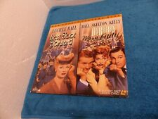 """Laser Disc MGM Double Feature """" Best Foot Forward/Du Barry Was A Lady"""" Lucy Ball"""