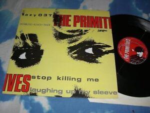 "THE PRIMITIVES - STOP KILLING ME UK 12"" SINGLE MINT AS NEW/UNPLAYED#"