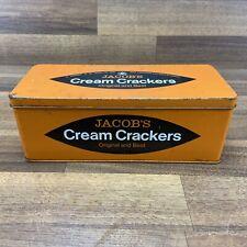 vintage Jacob's Cream Crackers Tin