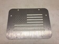 Wrangler JK Tailgate Spare Tire Delete Plate 2007 & Up! American Flag