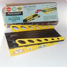 Gilbert Auto-Rama Slot Car Flyover Chicane Track Set Boxed