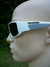 Men's Women's Biohazard white Sunglasses BZ4406 UV400 Davis B2 sunnies