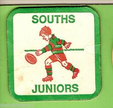 #D237.  SOUTH SYDNEY JUNIORS  RUGBY LEAGUE CLUB  DRINK  COASTER