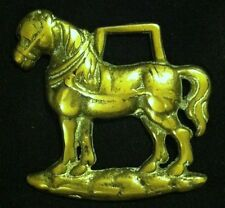Freestanding SMALL HARNESS HORSE Horse Harness Brass from England Nice GIFT IDEA
