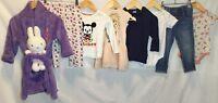 Baby Girls Bundle Of Clothing Age 18-24 Months H&M Disney Tu M&S <H1554