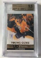 2013-14 Upper Deck YOUNG GUNS CANVAS Filip Forsberg BGS 9.5