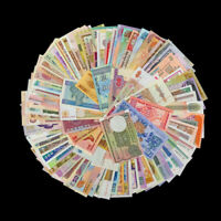 Lot Set 100 PCS Different MIX world Banknotes From 30 Different Countries, UNC