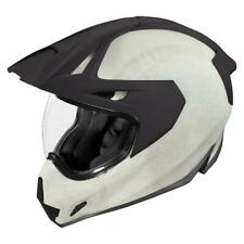 Icon Variant Pro Construct White Motorcycle Helmet