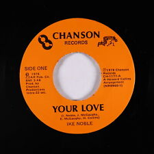 New Listing70s Soul 45 - Ike Noble - Your Love - Chanson - Vg+ mp3