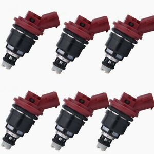6Pcs OEM Genuine Fuel Injector BOSCH 16611 AA310 Fits 92-99 Subaru SVX 1992-1995