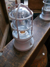 Vintage Industrial Hazard Light - Man Cave Indicator by Appleton - Blastproof