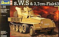 REVELL 1:35  KIT MEZZO MILITARE S.W.S. & 3,7 cm-FLAK 43   ART 03066