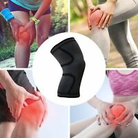 2x Compression Knee Sleeve Brace/Running/Arthritis/Joint Support/Tennis/Copper