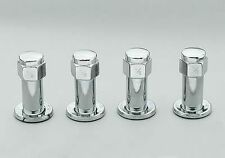 """Weld Racing 601 1424 Sport Forged Lug Nut 7/16"""" RH Closed End With Washer Chrome"""