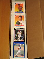 1991 Score Baseball  Complete 893 Card Set + 56 Trivia Card set