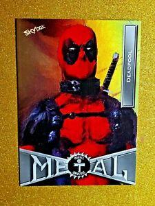 2021 MARVEL X-MEN METAL UNIVERSE PRECIOUS METAL GEMS PMG DEADPOOL #23