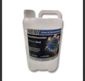 Heni Dictum Handdesinfektionsmittel Desinfektionsmittel Hand 4,8 Liter