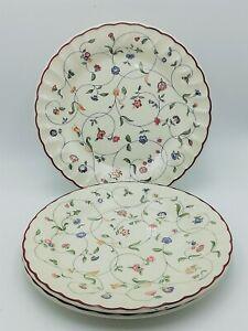 "x3 Staffordshire Oakwood 8"" Salad Plates Small Dinner Plates"