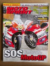 MOTOSPRINT n°48  2011 [Q75] Con speciale Morte di Marco Simoncelli