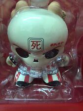 """Kidrobot 8"""" Huck Gee Skullhead Dunny NIB [HG-2]"""