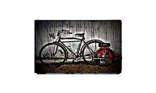 1916 smith motor wheel Bike Motorcycle A4 Retro Metal Sign Aluminium