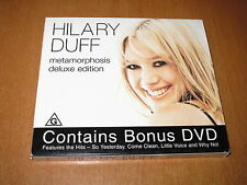 HILARY DUFF - METAMORPHOSIS - DELUXE EDITION [ CD & DVD ] SET ALBUM AUSTRALIA