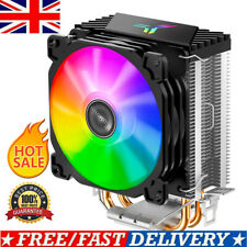 CPU Cooler W/ LED RGB Fan 2 Pipe 3 Pin For Intel AMD LGA 775/1155/1156/1150/1151