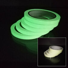 New Glow In The Dark Sticky Tape Self Adhesive Luminous Saftey Film Sticker Roll