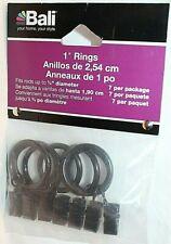 "Bali 1"" Bronze Blinds Rings  7 Pack"
